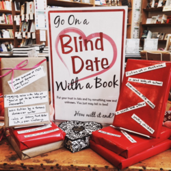 Blind date with book